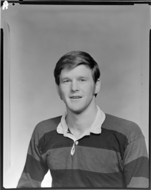 Unidentified member of the Athletic Rugby Football Club, senior A team of 1972