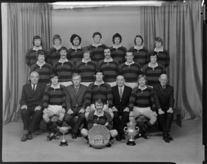 Athletic Rugby Football Club, senior A team of 1972