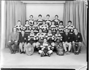 Certified Concrete Social Club rugby union team of 1971