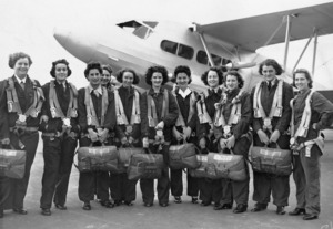 Women's Auxiliary Air Force wireless operators