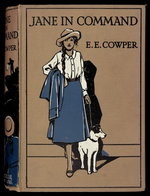 Jane in command : the story of a girl's war work and its strange results / by E.E. Cowper ; illustrated by Gordon Browne.