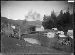 Puhoi township and school