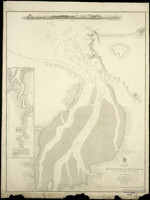 Rangaounou [i.e. Rangaunu] or Awanui River [cartographic material] / surveyed by Comr. B. Drury ... [et al.] ; engraved by J.&C. Walker.
