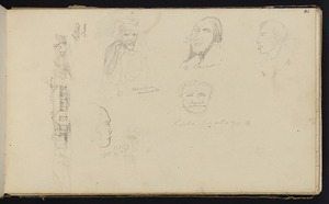 Wills, Alfred, fl 1842-1852 :Paton's Epsom [with five faces, 1848?]