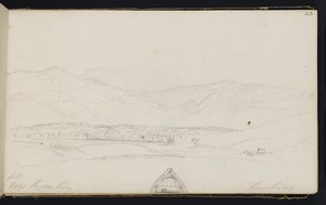 Wills, Alfred, fl 1842-1852 :Hay's Pigeon Bay from boat. [1848]