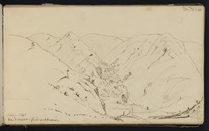Mantell, Walter Baldock Durrant, 1820-1895 :Waitaki; Nov 9 1848. Waikoura. F[ire]wood reserve.
