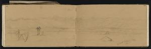 Mantell, Walter Baldock Durrant, 1820-1895 :Mt Domett Waitaki. Wed[nesda]y. Oct[ober] 25 [1848].