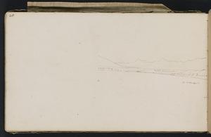 Wills, Alfred, fl 1842-1852 :[Coastline around Moeraki. 1848] [part 2]