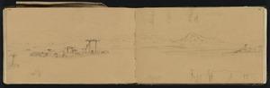 Mantell, Walter Baldock Durrant, 1820-1895 :[Takitahi, South Canterbury ... showing the pa]. Oct. 16 [1848]