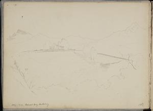 Moreton, Samuel Horatio, 1845?-1921 :[House at] Governor's Bay, Canterbury. S.H.M. 1897