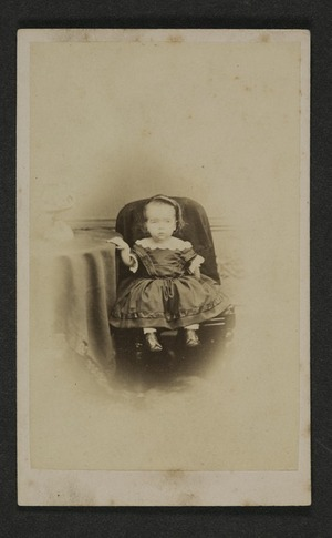 Portrait of unidentified young female child