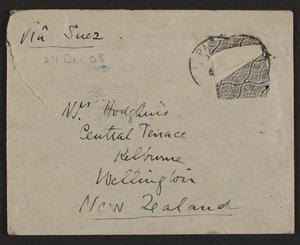 Letters from Frances Hodgkins to Rachel Hodgkins
