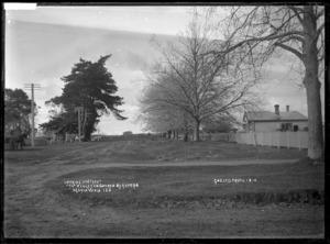 Street in Ngaruawahia, circa 1910 - Photograph taken by G & C Ltd