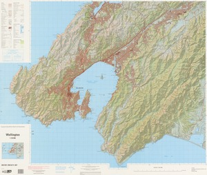 Wellington / National Topographic/Hydrographic Authority of Land Information New Zealand.