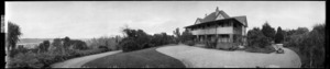 Two-storeyed house on St John's Hill, Wanganui