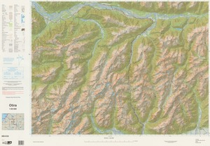 Otira / National Topographic/Hydrographic Authority of Land Information New Zealand.