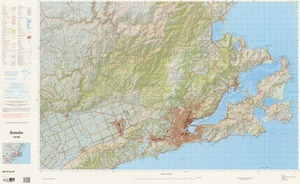 Dunedin / National Topographic/Hydrographic Authority of Land Information New Zealand.