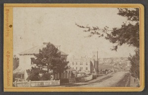 Pulman, E (Auckland) fl 1860s :Photograph of the Supreme Court Auckland
