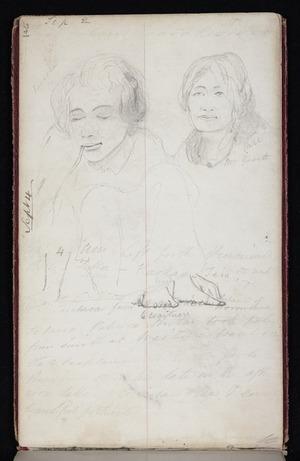 Mantell, Walter Baldock Durrant, 1820-1895 :Raoreka. Pari, Mrs Garett. [Diary entry] Sept 4 [1848]