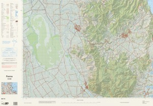 Paeroa / National Topographic/Hydrographic Authority of Land Information New Zealand.