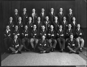 All Black team that travelled to Australia in 1929