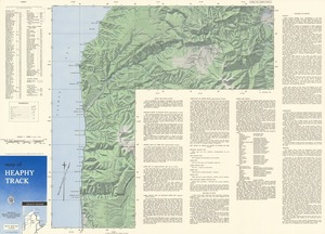 Map of Heaphy Track.