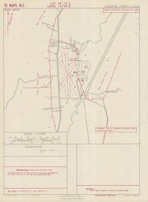Te Kuiti, N.Z. / drawn by Lands and Survey Dept., N.Z.