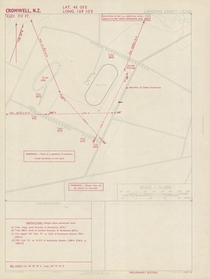 Cromwell, N.Z. / drawn by Lands and Survey Dept. N.Z.