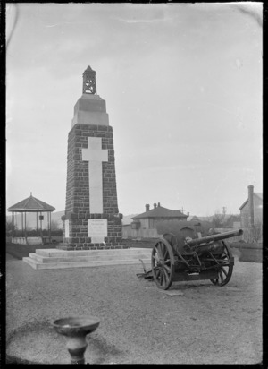 Soldiers' monument at Mosgiel.