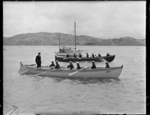Inspection of sea scouts