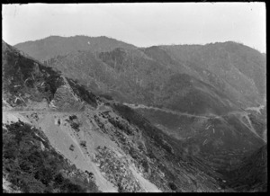 Rimutaka Hill Road, circa 1924.