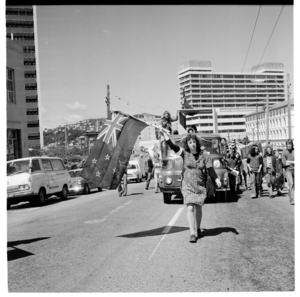 Protest against the NZSIS Amendment Bill 1977