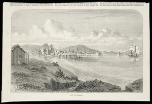 [Walsh, Philip] 1843-1914 :Bay of Islands. [Illustrated London news, 1869]