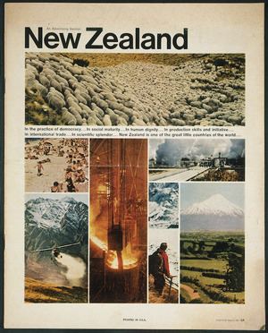 Fortune (Periodical) :New Zealand; an advertising section. Fortune, March 1967. Printed in U.S.A. [Front cover]