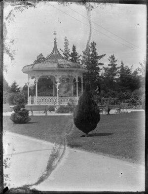 Band rotunda, Government Gardens, Rotorua