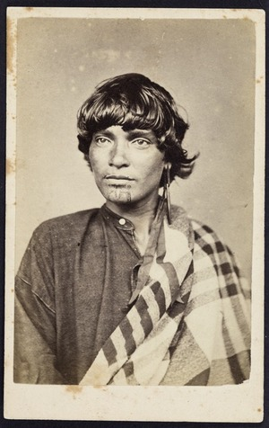 Photographer unknown :Portrait of Kepia of Thames