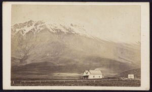 Photographer unknown :Portrait of Manapouri Station