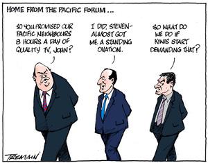 Pacific Forum promises