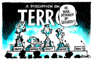 A discussion on terror