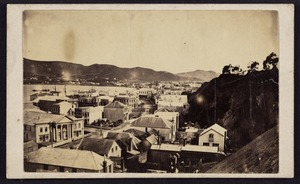 Photographer unknown :Photograph of Lambton Quay
