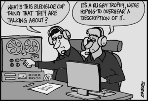 """""""What's this Bledisloe Cup thing that they are talking about?"""""""