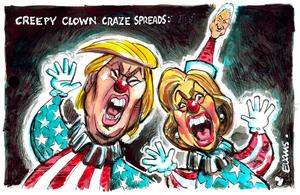 Creepy Clown Craze Spreads