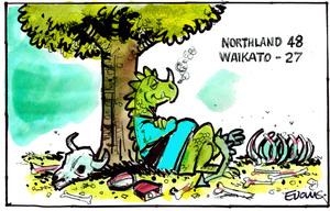 Northland 48 Waikato 27