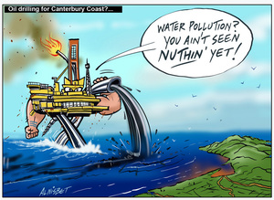 Oil drilling for Canterbury Coast?