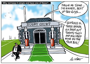 Rugby court