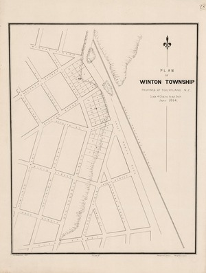 Plan of Winton Township Province of Southland N.Z. / R.P. MacGowan delt..