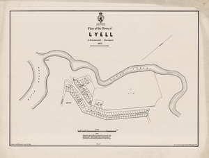 Plan of the Town of Lyell.