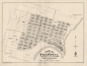Town of Cromwell / compiled from official surveys.