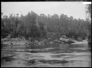 Warrigal Island on the Mokihinui River near Seddonville, West Coast