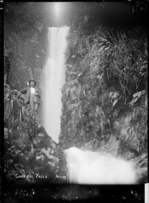 Cannibal Falls, near Raglan